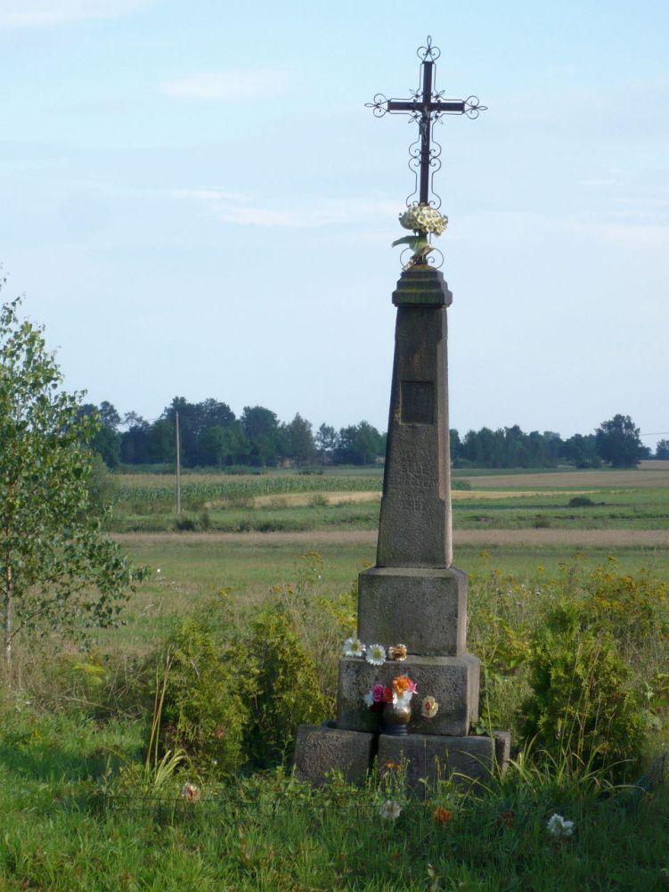 Krzyż przydrożny 1897r. Brodowo