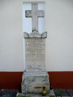 Grób ŚP Eysmonta z 1852
