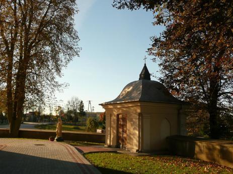 Przewodowo, wejście na cmentarz